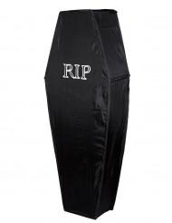 Cercueil noir RIP 150 cm Halloween