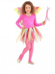 Kit princesse des fées arc-en-ciel enfant