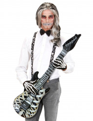 Guitare squelette gonflable 105 cm