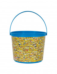 Seau à bonbons en plastique Emoji™