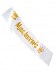 Echarpe Miss univers 80 x 14 cm