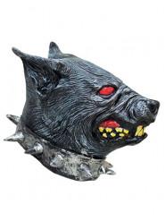Masque chien enragé latex adulte