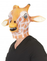 Masque girafe latex adulte