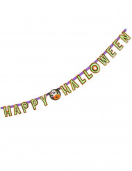 Guirlande articulée citrouille et compagnie Happy Halloween