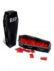 Centre de table boîte Cercueil RIP Halloween