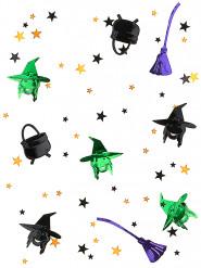 Confettis sorcières Halloween