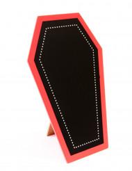 Ardoise cercueil gothique Halloween