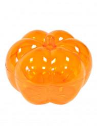 Boîte forme citrouille orange halloween