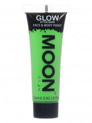 Gel visage et corps vert fluo phosphorescent 12 ml Moonglow ©