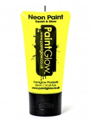Gel visage et corps jaune fluo UV 50 ml