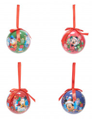 4 Boules de Noël Mickey™ 7,5 cm
