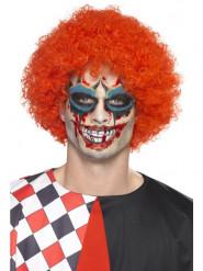 Kit maquillage clown avec tatoo et faux sang adulte