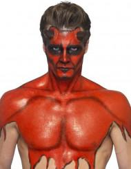 Maquillage latex liquide rouge avec éponge 59 ml