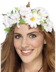 Couronnes fleurs marguerites femme