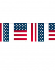 Guirlande fanions USA 10 mètres