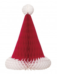 Centre de table Bonnet de Noël 30 cm