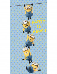 Décoration de porte lovely Minions™ 75 x 150 cm
