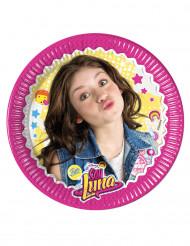 8 Petites assiettes en carton Soy Luna™ 19.5 cm