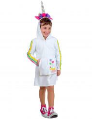 Déguisement licorne robe enfant