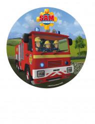 Disque azyme Sam le pompier™ 20 cm