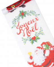 Chemin de table Joyeux Noël 30 cm x 5 mètres