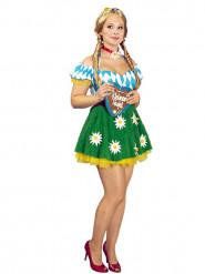 Déguisement bavaroise marguerite femme Fête de la bière