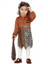 Déguisement petite fille de la préhistoire bébé