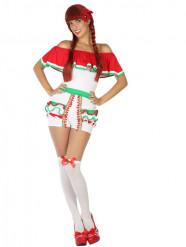 Déguisement short mexicaine femme
