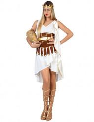 Déguisement romaine blanche femme