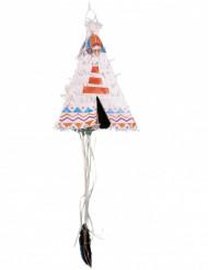 Piñata tipi indien 43 x 31 x 43 cm