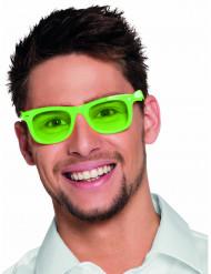 Lunettes vert fluo 80