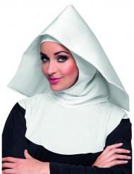 Coiffe nonne blanche adulte