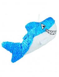 Piñata requin bleu 27 x 60 cm