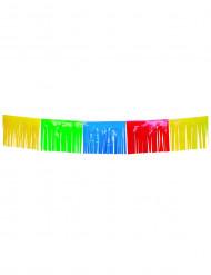 Guirlande à franges multicolores 10 m
