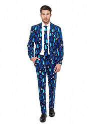 Costume Sapins bleus royals Opposuits™ homme