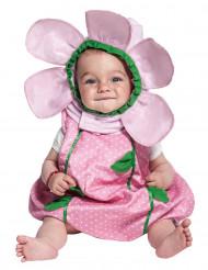Déguisement Fleur rose bébé