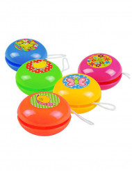 5 Mini yoyos colorés