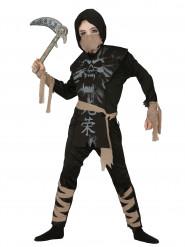 Déguisement ninja fantôme garçon