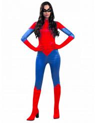 Déguisement araignée rouge femme