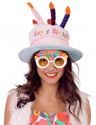 Lunettes Happy Birthday adulte