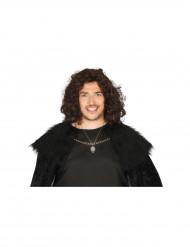 Collier pendentif loup adulte