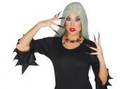 Collier araignées femme Halloween