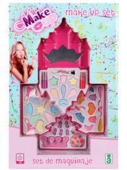 Kit maquillage château de princesse fille