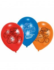 6 Ballons latex Blaze et les Monster Machines™