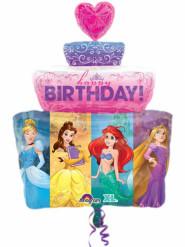 Ballon aluminium gâteau Princesses Disney™ 71 cm
