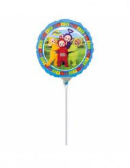 Ballon aluminium Teletubbies ™ gonflé sur tige 23 cm