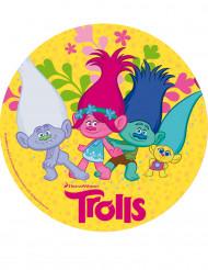 Disque en sucre Trolls™ 20 cm