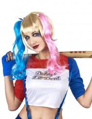 Perruque Arlequine diabolique femme