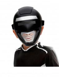 Masque power robot noir enfant
