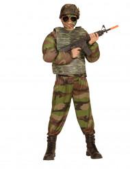 Gilet camouflage enfant